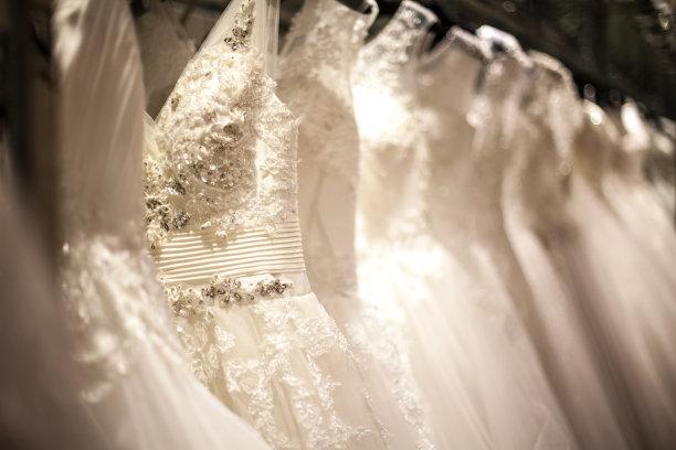 婚纱支架图片