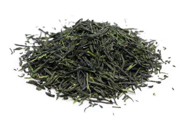绿茶堆茶叶