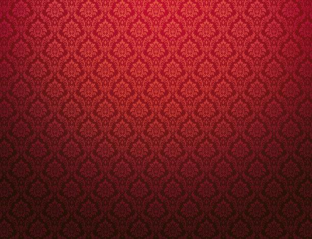 丝绸式样红色