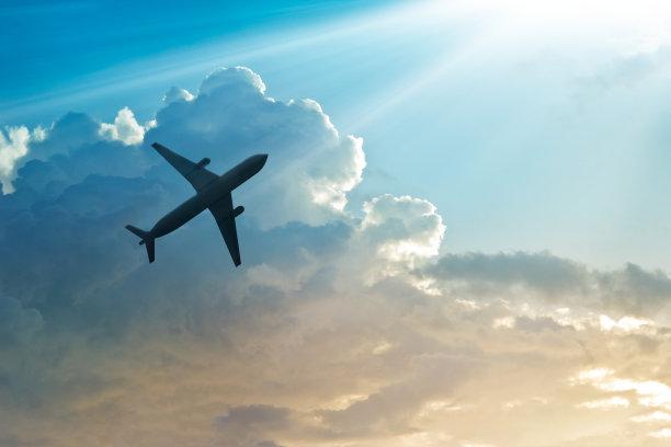 天上的飞机