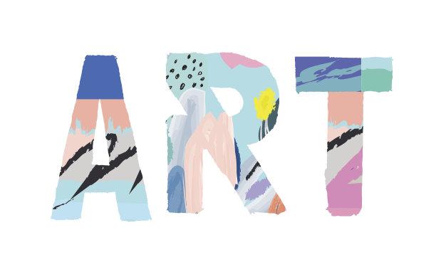 创造力水彩画颜料背景分离