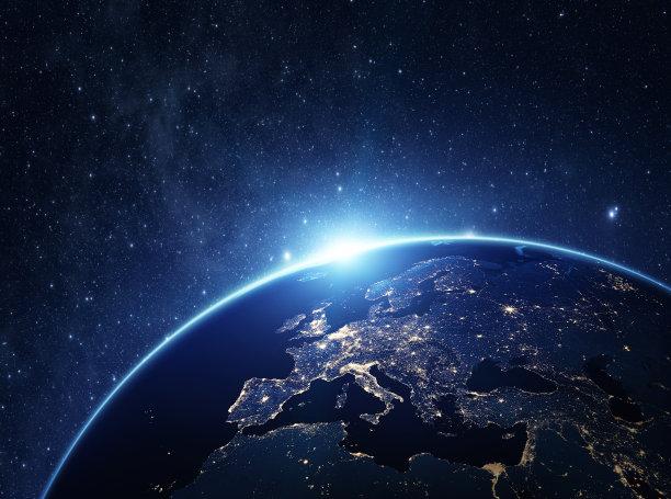 太空视角的地球