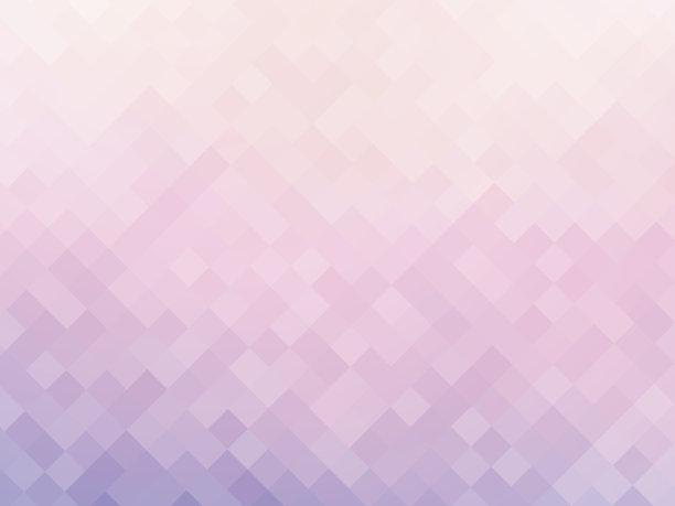 镶嵌图案粉色图片
