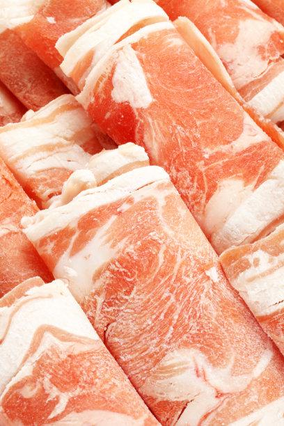 羊肉卷日式火锅菜香料