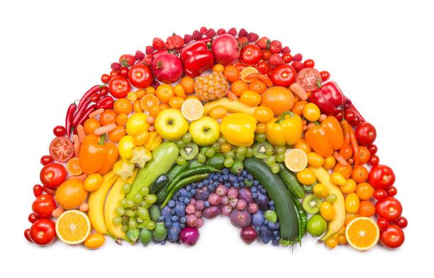 彩虹蔬菜图片