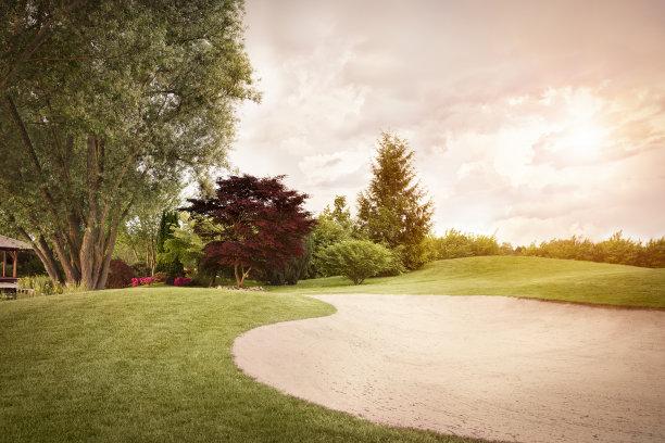 高尔夫球运动,高尔夫球场,休闲活动