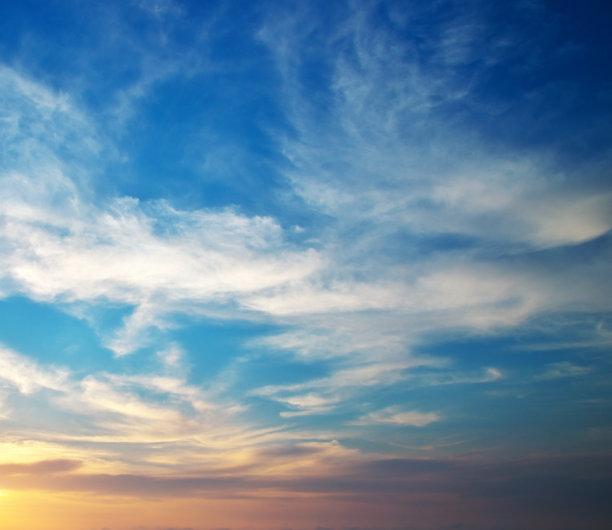 天空,背景,水