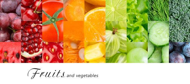 清新蔬菜水果