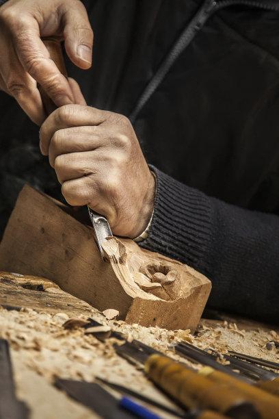 木工雕刻术工匠