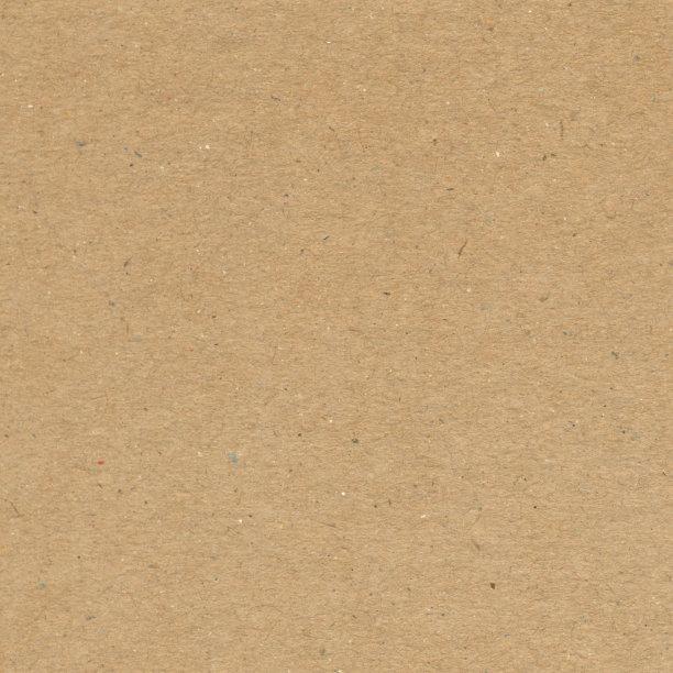 纹理效果纸板褐色