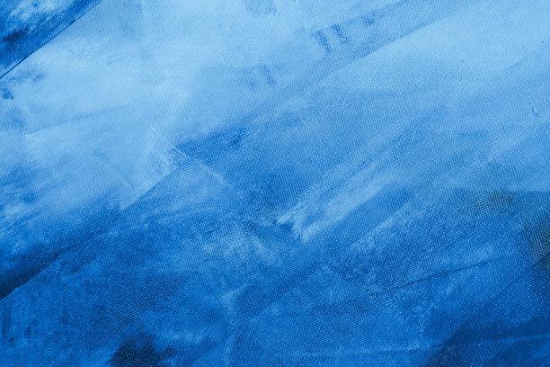 蓝色布料纹理效果