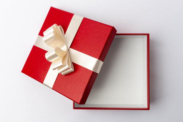 打开的礼物盒