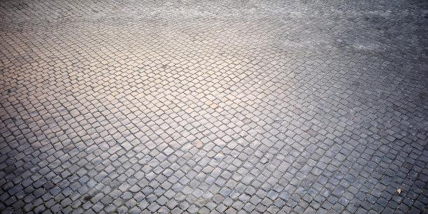 背景铺路石纹理效果