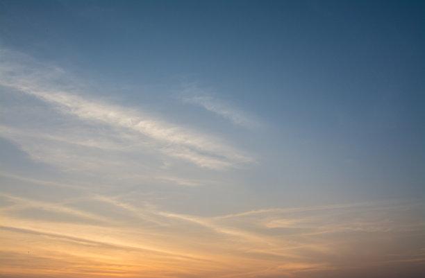 天空,背景,风