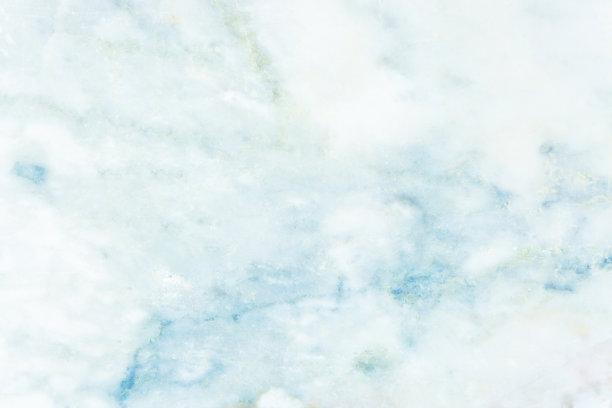蓝色大理石纹样