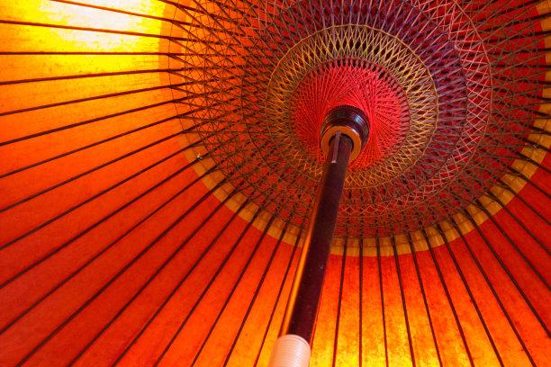 阳伞,日本,水平画幅