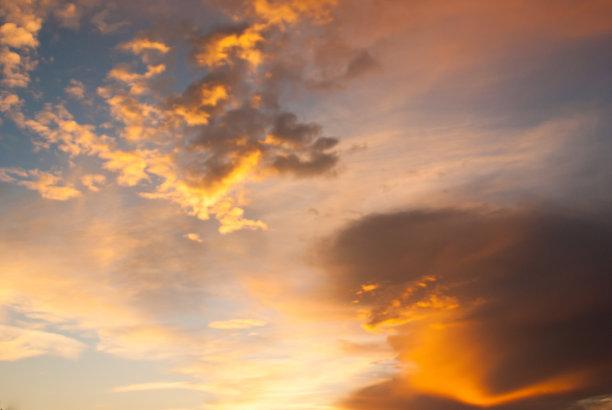 黄石公园,自然,天空