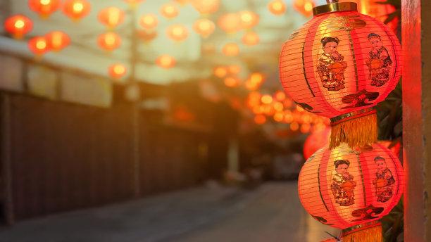灯笼春节越南