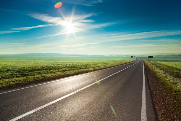马路和日光