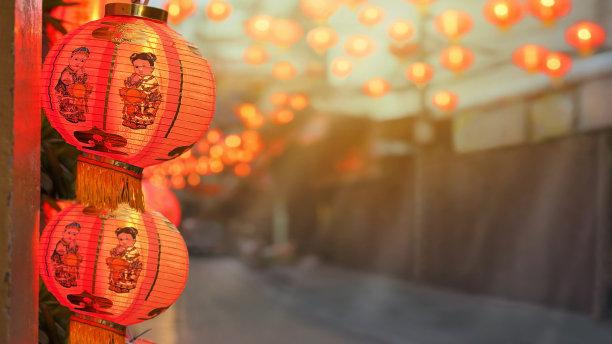 灯笼春节新加坡