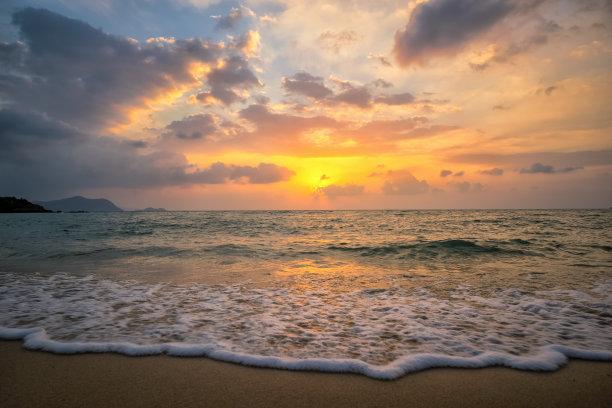 海洋,自然,水平画幅