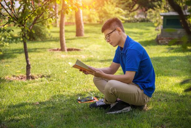 书青年人男人