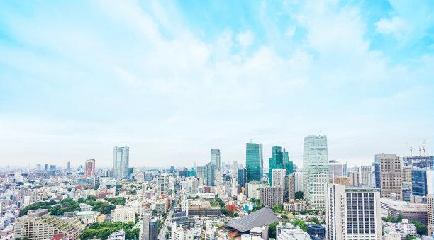 现代东京全景