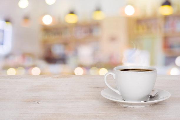 咖啡杯背景茶水间