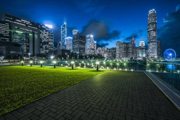 中央公园夜晚