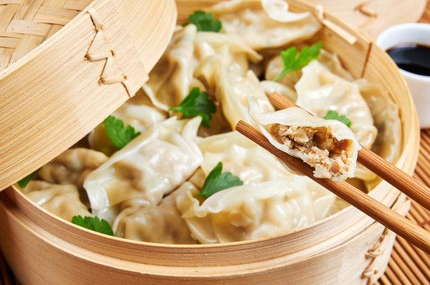 饺子亚洲蒸菜