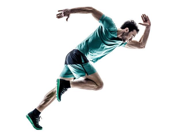 慢跑男人图片
