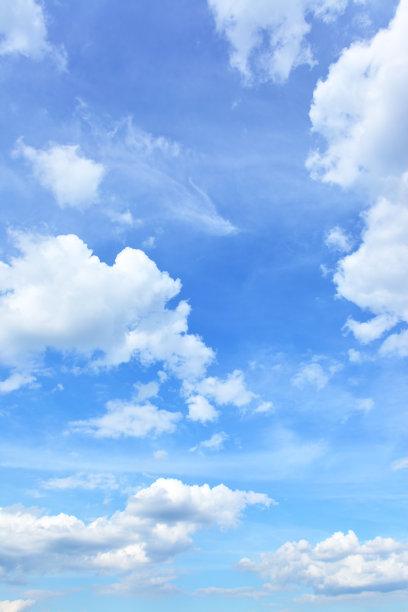 天空竖直图背景