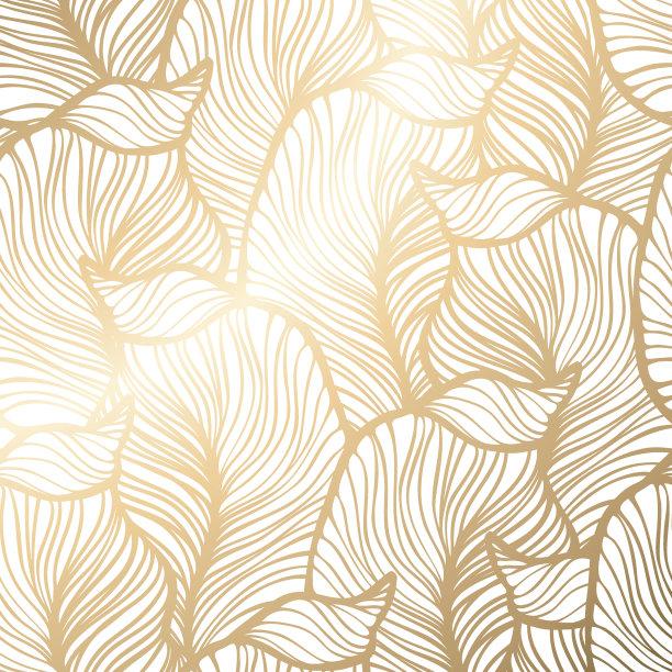 丝绸花纹壁纸