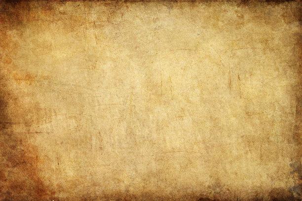 过时的纸褐色