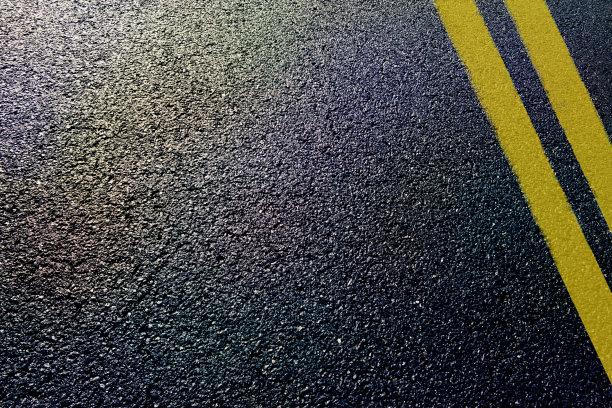 柏油路水平画幅焦油