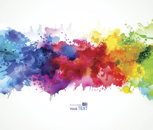 明亮染色剂测试艺术