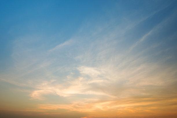 天空,自然,水平画幅