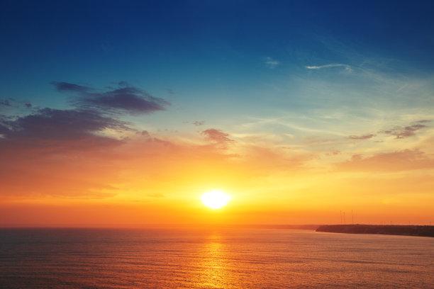 云景海洋自然美