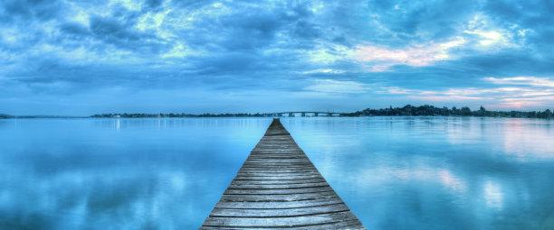 海港,风景,自然