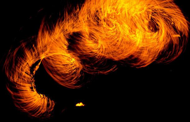火夜晚仅男人