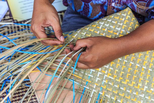 机织织物手竹子