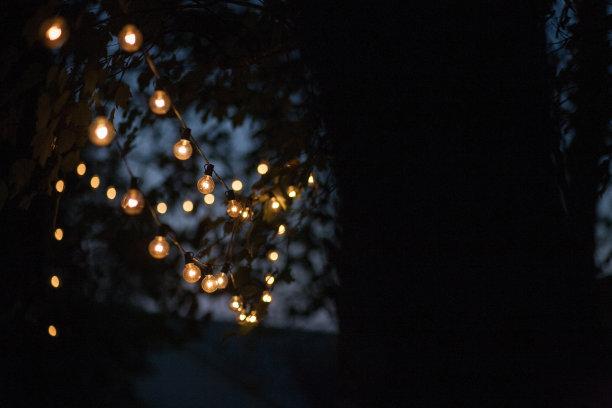 户外照明灯串
