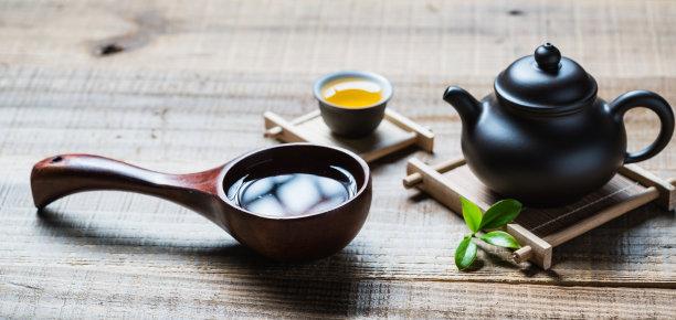 茶道木匙茶叶