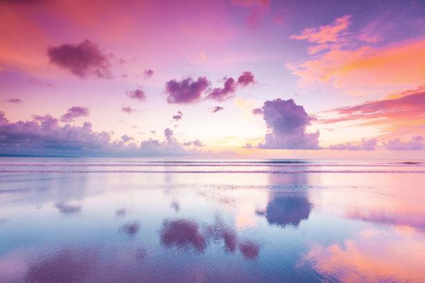 巴厘岛海洋在上面