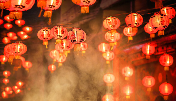 春节灯笼挂饰