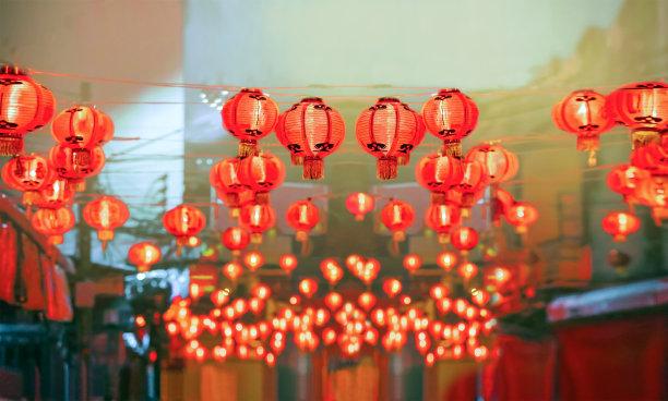 春节灯笼新的