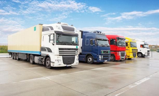 货运货物集装箱海上运输