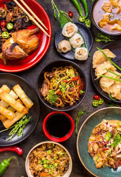 中国食品多样春卷