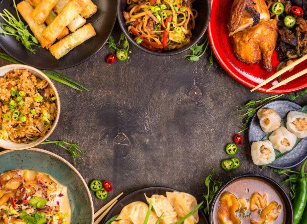 中国食品春卷图片