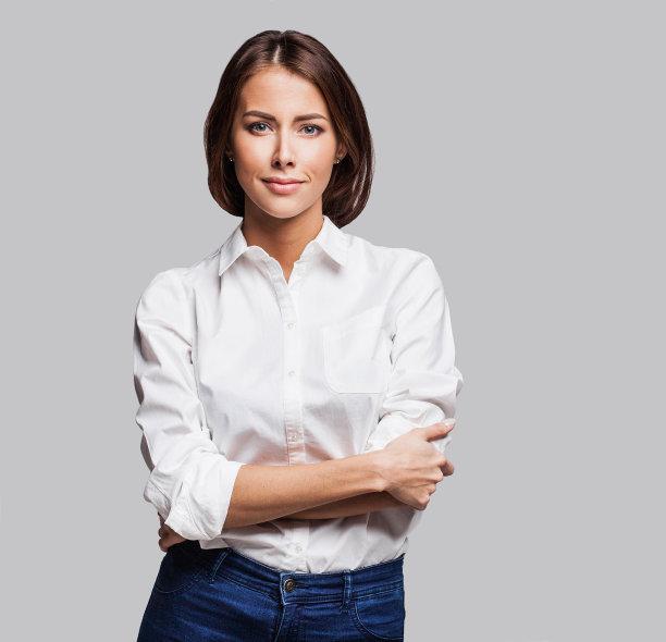 职业女性肖像